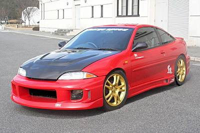 Cavalier 2Dr - Body Kits - Chargespeed - Chevrolet Cavalier Chargespeed Full Body Kit - 4PC - CS630FK