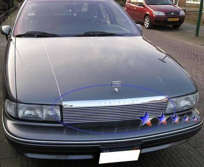 Grilles - Custom Fit Grilles - APS - Chevrolet Caprice APS Billet Grille - Upper - Aluminum - C86003A