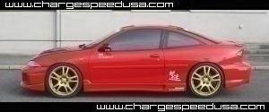 Cavalier 2Dr - Side Skirts - Chargespeed - Chevrolet Cavalier Chargespeed Side Skirts - Pair - CS630SS