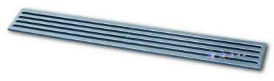 Grilles - Custom Fit Grilles - APS - Chevrolet Trail Blazer APS CNC Grille - Bumper - Aluminum - C95313A