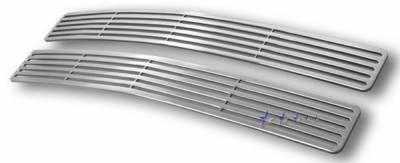 Grilles - Custom Fit Grilles - APS - Chevrolet Suburban APS CNC Grille - Upper - Aluminum - C95706A