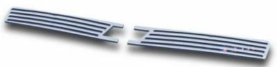 Grilles - Custom Fit Grilles - APS - Chevrolet Impala APS CNC Grille - Upper - Aluminum - C95743A