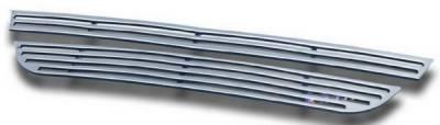 Grilles - Custom Fit Grilles - APS - Chevrolet Cobalt APS CNC Grille - Upper - Aluminum - C95752A