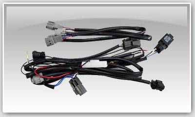 Bulbs & HID - Wire Harness - Chargespeed - Nissan 240SX Chargespeed S-13 to S-15 Headlight Wire Harness - CS7072HN
