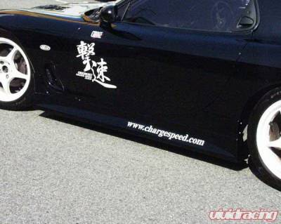 RX7 - Side Skirts - Chargespeed - Mazda RX-7 Chargespeed Side Skirts - Pair - CS710SS