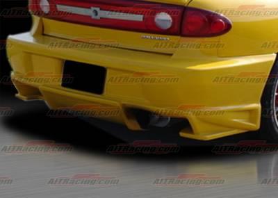 Cavalier 4Dr - Rear Bumper - AIT Racing - Chevrolet Cavalier AIT Racing BMX Style Rear Bumper - CC03HIBXSRB4