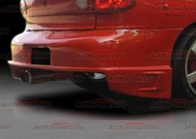 Cavalier 4Dr - Rear Bumper - AIT Racing - Chevrolet Cavalier AIT Racing DFS Style Rear Bumper - CC03HIDFSRB