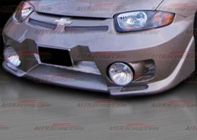 Cavalier 4Dr - Front Bumper - AIT Racing - Chevrolet Cavalier AIT Racing EVO Style Front Bumper - CC03HIEVO5FB