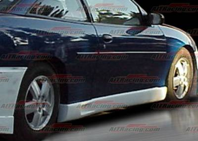 Cavalier 2Dr - Side Skirts - AIT Racing - Chevrolet Cavalier AIT Racing EVO Style Side Skirts - CC03HIEVO5SS2