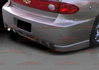 Cavalier 4Dr - Rear Bumper - AIT Racing - Chevrolet Cavalier AIT Racing EVO Style Rear Bumper - CC03HIEVORB