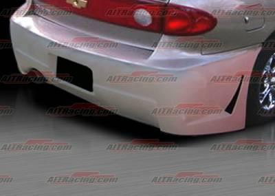 Cavalier 4Dr - Rear Bumper - AIT Racing - Chevrolet Cavalier AIT Racing Zen Style Rear Bumper - CC03HIZENRB4