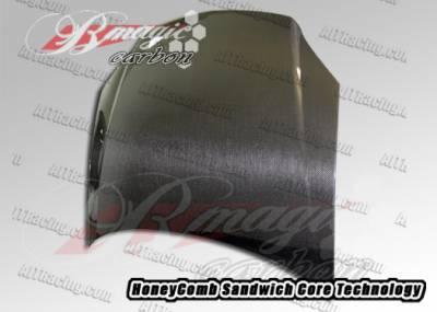 Cobalt 4Dr - Hoods - AIT Racing - Chevrolet Cobalt AIT Racing OEM Style Carbon Fiber Hood - CC05BMCFH