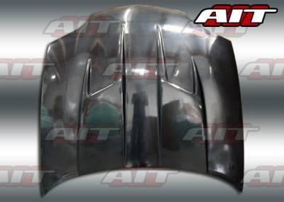 Cavalier 2Dr - Hoods - AIT Racing - Chevrolet Cavalier BMagic Type-3 FRP Hood - CC95BMT3FH