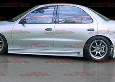 Cavalier 4Dr - Side Skirts - AIT Racing - Chevrolet Cavalier 4DR AIT Racing BMX Style Side Skirts - CC95HIBMXSS4