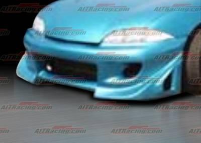 Cavalier 4Dr - Front Bumper - AIT Racing - Chevrolet Cavalier AIT Racing BZ Style Front Bumper - CC95HIBZSFB