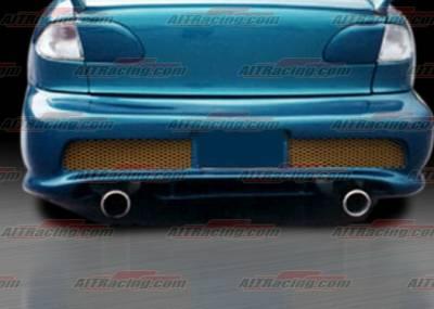 Cavalier 4Dr - Rear Bumper - AIT Racing - Chevrolet Cavalier AIT Racing Combat Style Rear Bumper - CC95HICBIIRB2