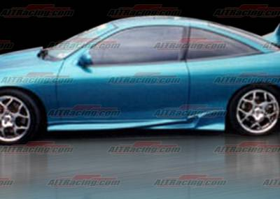 Cavalier 2Dr - Side Skirts - AIT Racing - Chevrolet Cavalier AIT Racing Combat Style Side Skirts - CC95HICBIISS2