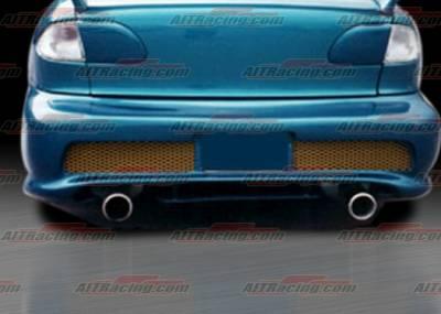 Cavalier 4Dr - Rear Bumper - AIT Racing - Chevrolet Cavalier AIT Racing Combat Style Rear Bumper - CC95HICBSRB