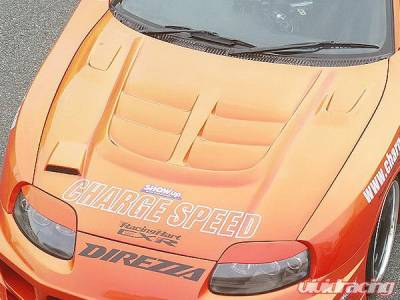 Supra - Hoods - Chargespeed - Toyota Supra Chargespeed Vented Hood - CS890HFV