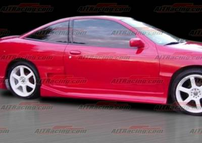 Cavalier 2Dr - Side Skirts - AIT Racing - Chevrolet Cavalier 2DR AIT Racing Drift Style Side Skirts - CC95HIDFSSS2