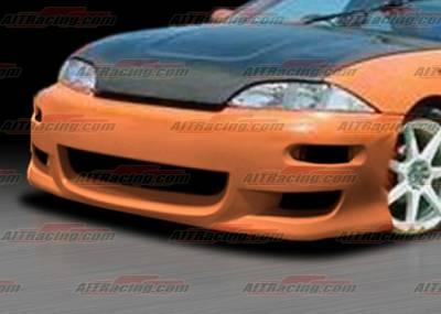 Cavalier 4Dr - Front Bumper - AIT Racing - Chevrolet Cavalier AIT Racing TX-1 Style Front Bumper - CC95HITX1FB
