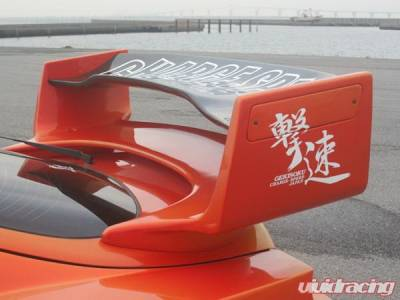 Spoilers - Custom Wing - Chargespeed - Toyota Supra Chargespeed Super GT Wing with Top - CS890RWGTC