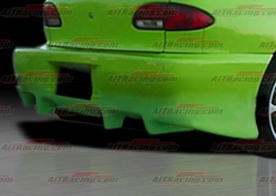 Cavalier 4Dr - Rear Bumper - AIT Racing - Chevrolet Cavalier AIT Racing TX-1 Style Rear Bumper - CC95HITX1RB2