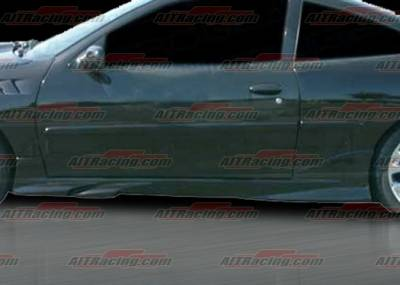 Cavalier 2Dr - Side Skirts - AIT Racing - Chevrolet Cavalier AIT Racing VS-2 Style Side Skirts - CC95HIVSSSS2
