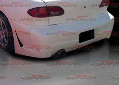 Cavalier 4Dr - Rear Bumper - AIT Racing - Chevrolet Cavalier AIT Racing Zen Style Rear Bumper - CC95HIZENRB