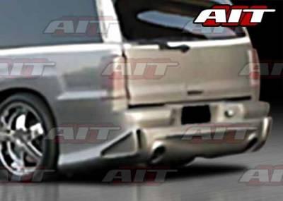 Escalade - Rear Bumper - AIT Racing - Cadillac Escalade AIT EXE Style Rear Bumper - CE02HIEXERBSV
