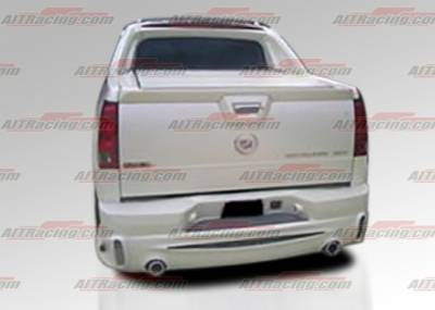 Escalade - Rear Bumper - AIT Racing - Cadillac Escalade AIT Racing EXE Style Rear Bumper - CE02HIEXERBXT