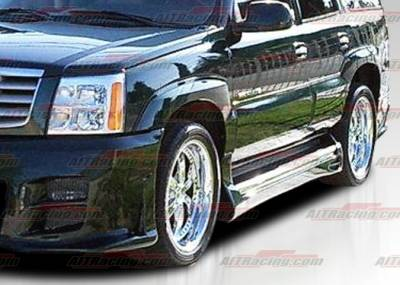 Escalade - Side Skirts - AIT Racing - Cadillac Escalade AIT Racing EXE Style Side Skirts - CE02HIEXESS