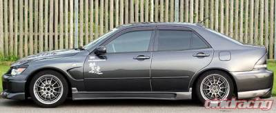 IS - Side Skirts - Chargespeed - Lexus IS Chargespeed Type-2 Side Skirt - Pair - CS899SS2
