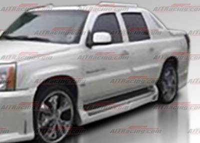 Escalade - Side Skirts - AIT Racing - Cadillac Escalade AIT Racing EXE Style Side Skirts - CE02HIEXESSXT