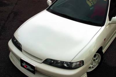 Integra 4Dr - Hoods - Chargespeed - Acura Integra Chargespeed Type-R OEM Hood - CS909HC