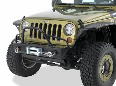 Grilles - Grille Guard - Warrior - Jeep Wrangler Warrior Pre-Runner Brush Guard - 59010