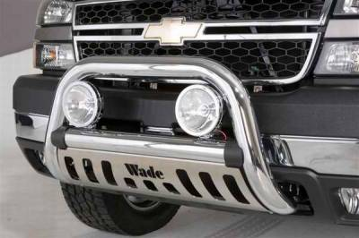 Grilles - Grille Guard - Wade - Wade Chrome Finish Bull Bar - 95301