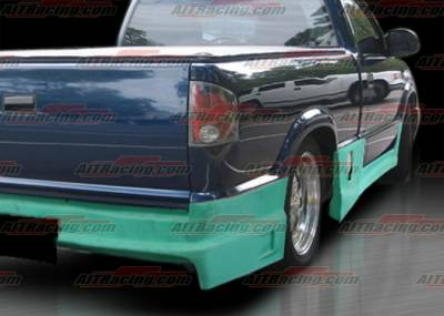 S10 - Side Skirts - AIT Racing - Chevrolet S10 AIT Racing Drift Style Side Skirts - CS1094HIDFSSS