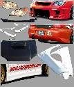Impreza - Body Kits - Chargespeed - Subaru Impreza Chargespeed Body Kit Conversion to 2006-2007 3D Front End - CS975FELKD