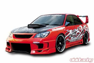 Impreza - Front Bumper - Chargespeed - Subaru Impreza Chargespeed New Eye Type-2 Full Bumper Kit with 3-D Carbon Center - CS975FKD