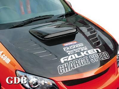WRX - Hoods - Chargespeed - Subaru WRX Chargespeed New Eye Vented Hood - CS975HCV