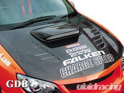 WRX - Hoods - Chargespeed - Subaru WRX Chargespeed New Eye Vented Hood - CS975HFV