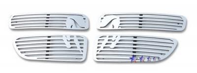 Grilles - Custom Fit Grilles - APS - Dodge Stratus 4DR APS Symbolic Grille - D25122B