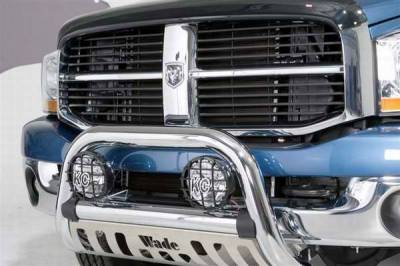 Grilles - Grille Guard - Wade - Wade Chrome Finish Bull Bar - 98303