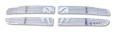 Grilles - Custom Fit Grilles - APS - Dodge Dakota APS Symbolic Grille - D25730B