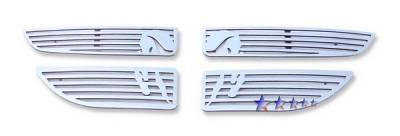 Grilles - Custom Fit Grilles - APS - Dodge Caravan APS Symbolic Grille - D26440B