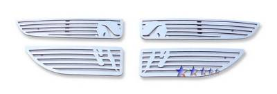 Grilles - Custom Fit Grilles - APS - Dodge Grand Caravan APS Symbolic Grille - D26440B