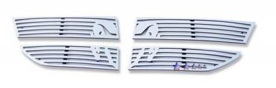 Grilles - Custom Fit Grilles - APS - Dodge Journey APS Symbolic Grille - D26609B
