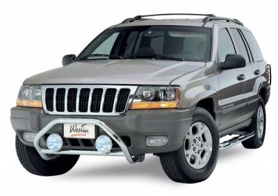 Grilles - Grille Guard - Westin - Jeep Grand Cherokee Westin Safari Light Bar Mount Kit - 30-1135