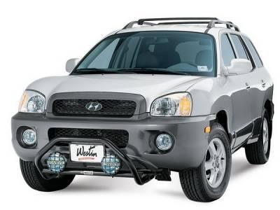 Grilles - Grille Guard - Westin - Hyundai Santa Fe Westin Safari Light Bar Mount Kit - 30-1225